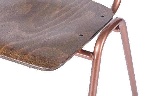 retro copper detail